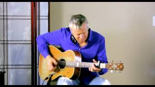 Tommy Emmanuel - Finger Lakes - Guitar Lesson