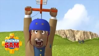 Fireman Sam Official: Trevor on the Zipwire