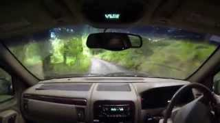 Green Lane Blast UK Jeep Grand Cherokee WJ 4.7 V8 Wet/Raining