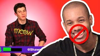 Download Lagu TRY NOT TO LAUGH WITH SHAWN MENDES CHALLENGE/REACTION Gratis STAFABAND