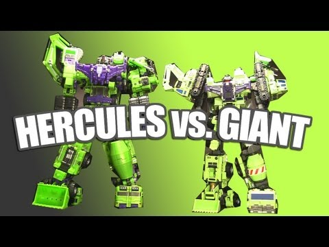 TFC Toys Hercules vs. Maketoys Giant
