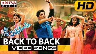 S/o Satyamurthy Video Songs Back To Back || Allu Arjun, Samantha, Nithya Menon
