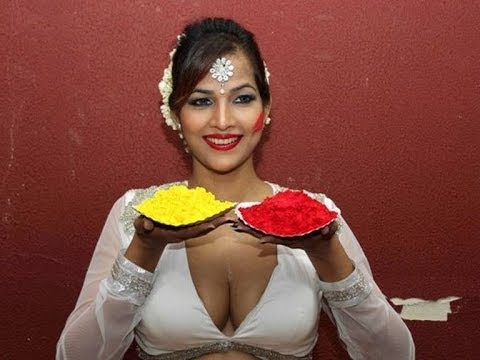 Choli Me Holi   Bollywood Actress Tanisha Singh Holi 2014   Hot And Sexy Video Clip video