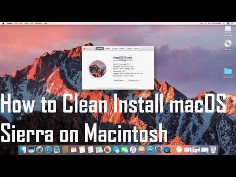 How to Install macOS Sierra on Macintosh | MacBook Pro | MacBook Air | Mac Pro | iMac | Mac mini