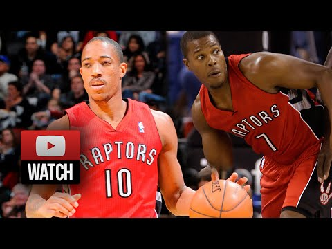 Kyle Lowry & DeMar DeRozan Full Highlights at Kings (2014.10.07) - 48 Pts Total!