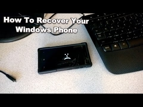 SAD LUMIA - Recover Your Windows Phone (Loss of Function - Boot Loop)