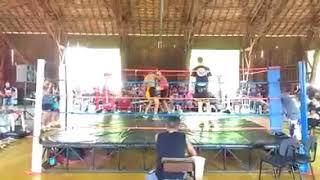 Tarik CDL Fight vs Mateus Menega Fight - Luta de Boxe 57kg