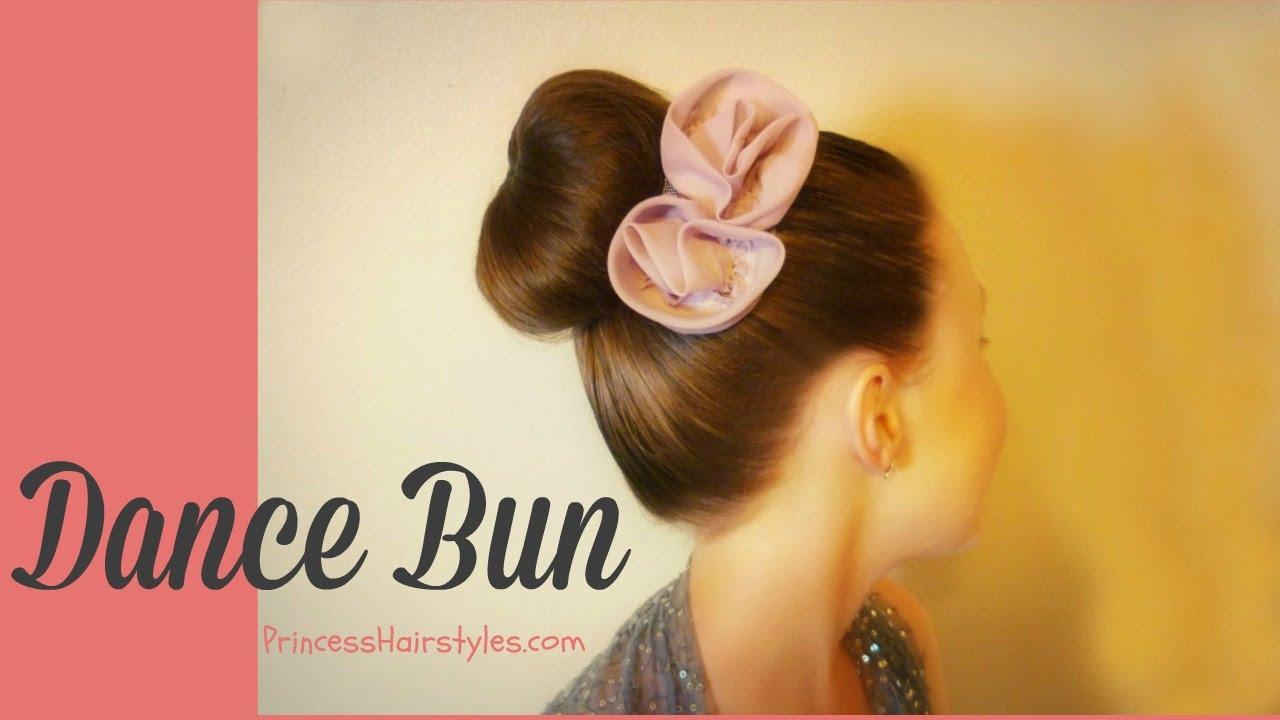How To Make A Donut Bun Sock Bun With No Ends Dance