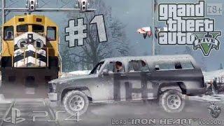 """GTA 5 (NextGen) Прохождение [ПЕРВОЕ ОГРАБЛЕНИЕ БАНКА] Часть #1 ► Геймплей PS4 """"Grand Theft Auto V"""""""