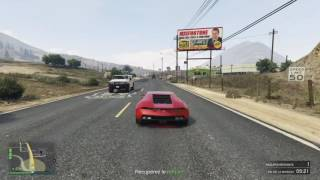 Grand Theft Auto 5 carambolage