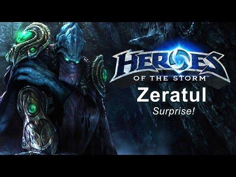 Heroes of the Storm - 'Surprise!' Zeratul Build