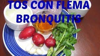 Tos con flemas, Bronquitis...