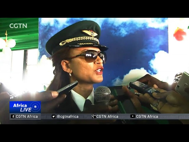 Ethiopia Airways makes history with all female crew on Lagos flight
