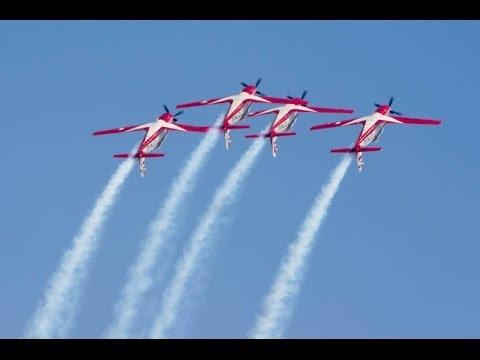 Indonesian Air Force Jupiter Aerobatic Team Singapore Airshow 2014 ジュピターエアロバティックチーム シンガポールエアショー2014