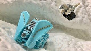 Dinotrux Toys Arctic Adventure Pack Snowblazer - New Dinotrux Season 6 - Dinosaur Kids & Children