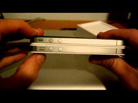 iPhone 4S - 64 GB Bianco - Unboxing - ITA