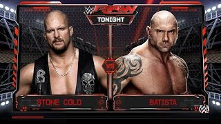 Stone Cold Calls Out Batista   Goldberg Returns 2017