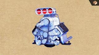 Building DDW 1/8 DOHC V8 (3D Printed + Servo Motor)