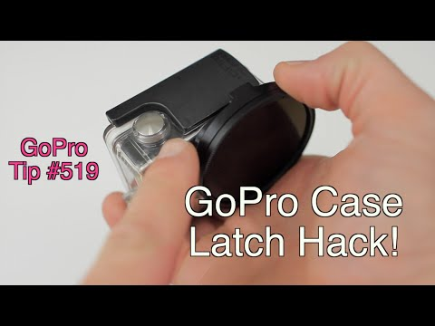 Gopro Case Latch Hack Gopro Tip 519