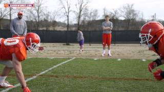 Clemson Football || Spring Practice - Day 5