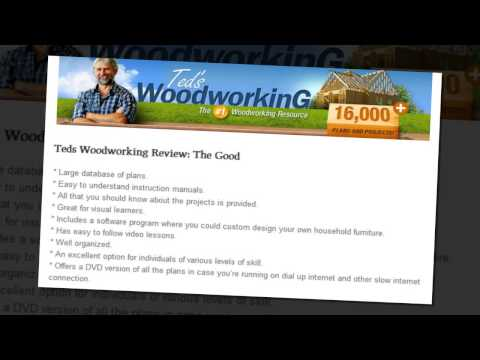 Teds Woodworking Review - My Honest Teds Woodworking Reviews in 2103