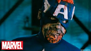 MARVEL ZOMBIES Transformation Time-Lapse!