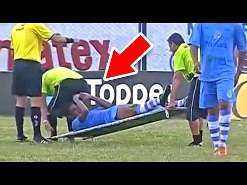 40 САМЫХ нелепых моментов в футболе