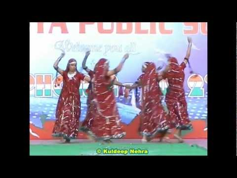 Resham Ka Rumal Song Dance in Euphoria - 2012 by Bhartiya Public...