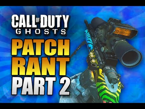 PATCH RANT PART 2! Call of Duty Ghosts Sniping / Quickscoping Multiplayer Gameplay