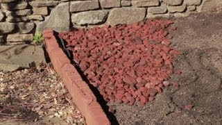 How to Landscape With Lava Rock : Landscaping Basics