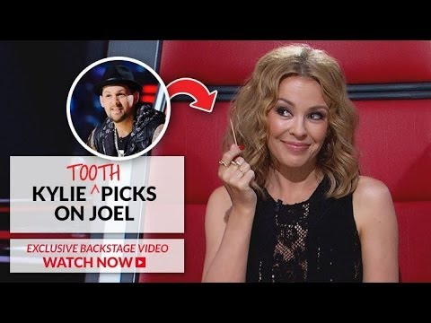 Kylie Minogue picks on Joel Madden | The Voice Australia 2014