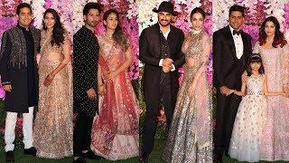Akash Ambani Wedding Reception Full Hd Video | Shah Rukh Khan, Mukesh Ambani
