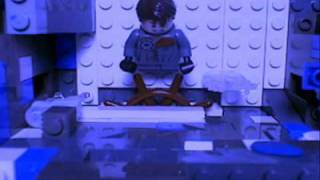 Thumb Lost en Lego: Ben Linus girando la rueda