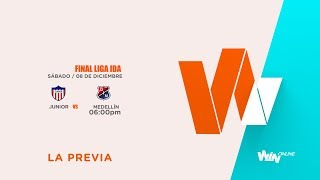 Junior vs Medellín (La previa - En vivo) | Liga Aguila | Final ida