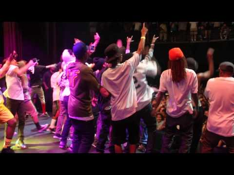 Lil Wayne at Odd Future Carnival 2012, LA. Stage footage.