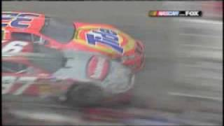 2003 Kurt Busch Ricky Craven Darlington Close Finish