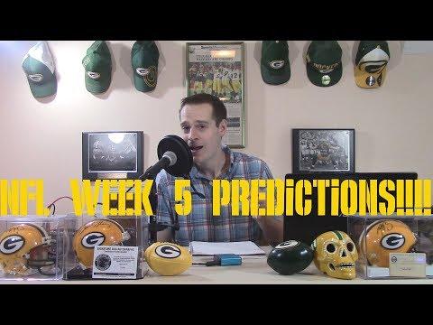NFL Week 5 Predictions!