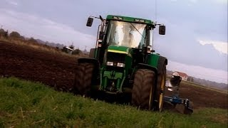John Deere 7810 + Overum 4 - Orka 2013 [Engine Sound]