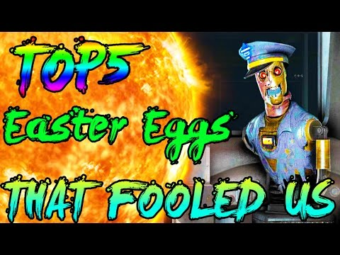 Easter Eggs That Fooled Us #2! | TOP 5 | Call of Duty Zombies | Black Ops 3 Zombies