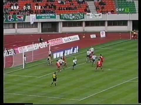 Rapid - FC Tirol 32. Runde 2001/2002 3.TITEL IN FOLGE!!