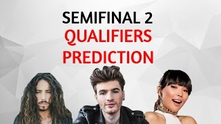 Semi Final 2 Top 10 Qualifiers PREDICTION:  Odds, Polls & Qualification Record Eurovision 2016