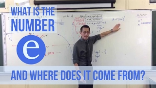 """What is the number """"e"""" and where does it come from?"""