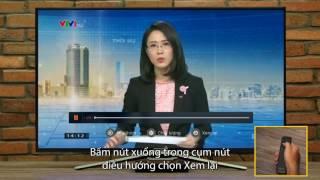 Cách xem lại chương trình truyền hình trên VTV1