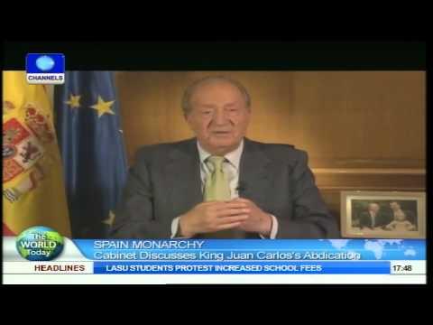 Spain Monarchy: Cabinet Discusses King Juan Carlos's Abdication