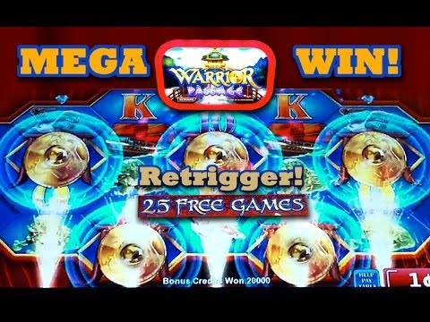 Warrior Passage *NEW* MEGA WIN! -  MAX BET - Slot Machine Bonus