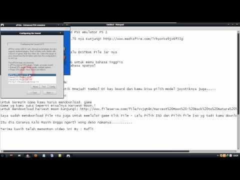 Cara Install PSX emulator 1.70