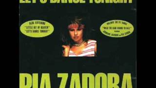 Pia Zadora - Let's Dance Tonight