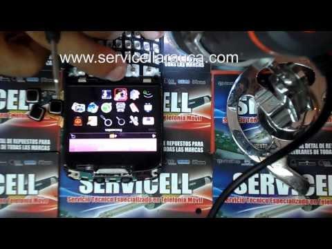 reparacion blackberry 9300 no funciona trackpad o jostick . falla diodo ESD . repair 9300 trackpad