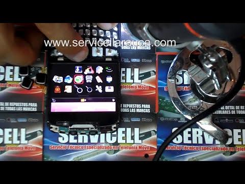 reparacion blackberry 9300 no funciona trackpad o jostick , falla diodo ESD , repair 9300 trackpad