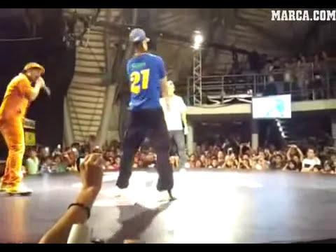 Neymar humillado
